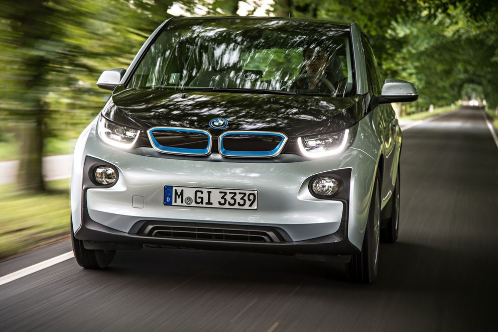 BMW i3 in Frontalansicht